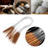 Бамбуковые спицы, вязание вкруговую, вязание шапок