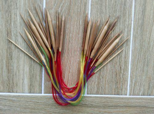 спицы для вязания, круговые спицы, спицы 40 см, вязание