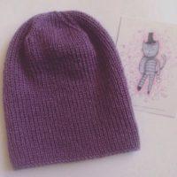 шапки вязаные женские