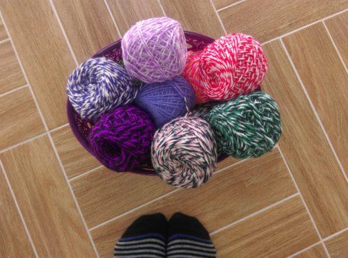 карачаевская пряжа, полушерстяная пряжа, купить в минске, вязание носков