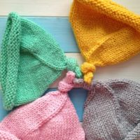 вязаная шапочка крючком, вязаная шапочка спицами, вязаные шапочки для девочек