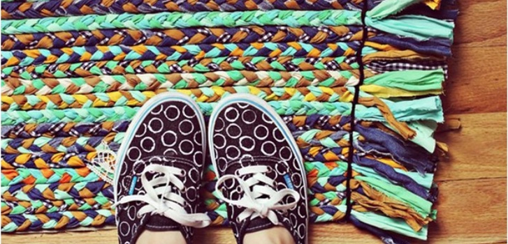 вязание ковриков, вязание крючков ковриков, вязание крючком коврики